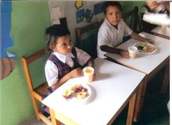 kindergarten meal