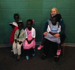 "Mission storyteller Sue Sprang visited our synod's Sudanese congregation – where she was adopted as ""grandma"" by the children."