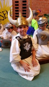 "Henry as the Captain of the Guards in the play ""Malice in the Palace""."