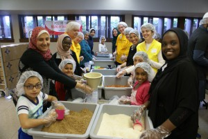 ULC's overall highlight GWOH 2015 was working alongside their Muslim neighbors