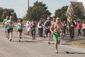 Participants chose from a four- or six-mile route.