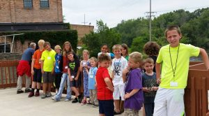 Children from Gun River Mobile Home Park benefit from a summer program that includes lunch, enrichment activities, and field trips.