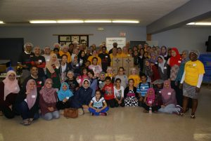 University Lutheran Church (East Lansing) and the Islamic Center of Greater Lansing, share adjoining property, a parking lot, a playground, activities, prayer, and support. Most recently, University members surrounded the mosque when it received threats.
